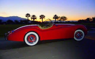 Jaguar XK 120 Rent California