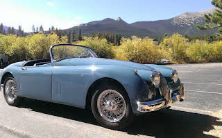 Jaguar XK 150 Rent Colorado