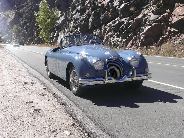 Jaguar Xk 150 Hire Broomfield