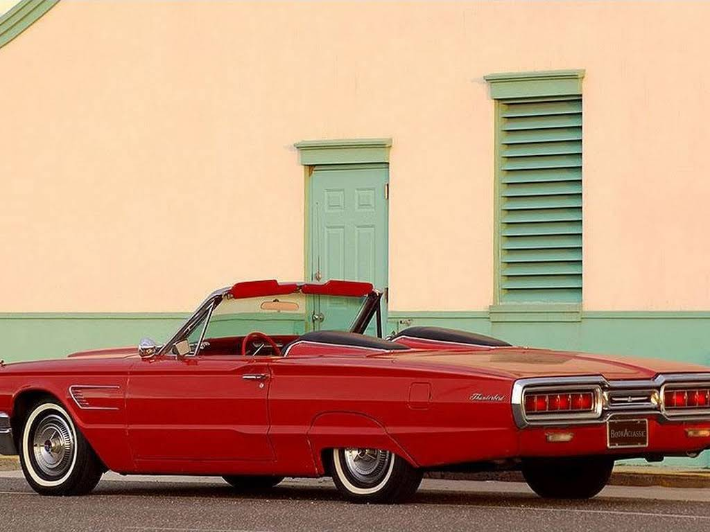 Ford Thunderbird Convertible Hire Baldwin